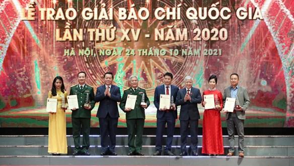 Báo Đại Đoàn Kết nhận giải C Giải báo chí Quốc gia lần thứ XV