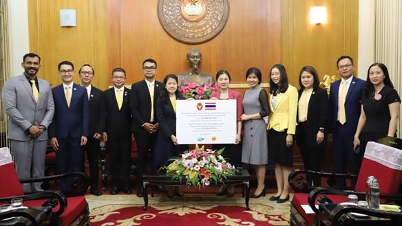 Cộng đồng quốc tế cùng hỗ trợ các tỉnh miền Trung, Tây Nguyên