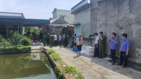 Thảm sát ở Thái Bình: Con rể chém bố mẹ vợ và vợ tử vong