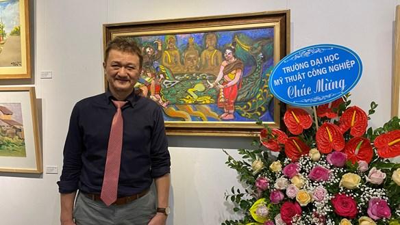 Đất nước, con người Lào và Việt Nam qua các tác phẩm nghệ thuật của hoạ sĩ Lê Dũng Cường