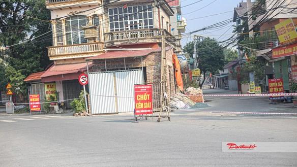 Quốc Oai, Hà Nội: Nhiều trụ sở, khu dân cư bị phong tỏa sau 6 ca nhiễm Covid- 19