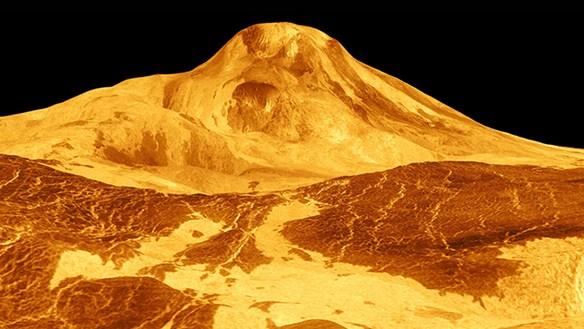 Bằng chứng núi lửa đang hoạt động trên sao Kim