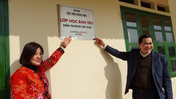 600 triệu đồng xây dựng 2 phòng học kiên cố cho vùng cao Lào Cai