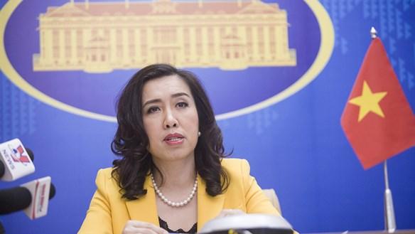 Kiên quyết phản đối các hành vi vi phạm chủ quyền Việt Nam trên Biển Đông