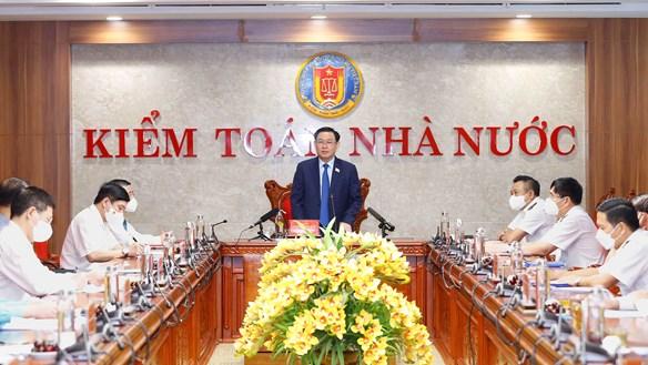 Chủ tịch Quốc hội làm việc với Kiểm toán Nhà nước