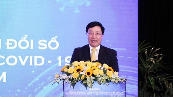 Phó Thủ tướng Phạm Bình Minh: Tận dụng CMCN 4.0 để khôi phục kinh tế