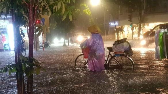 Bắc Bộ tiếp tục có mưa dông lớn