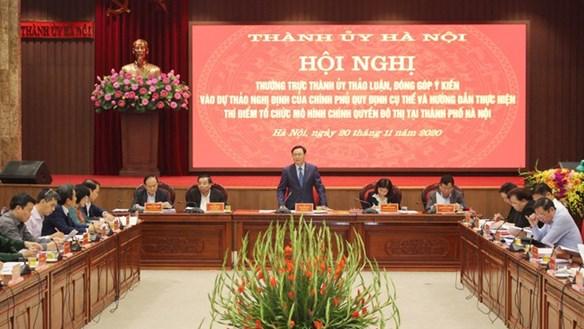 Chính quyền đô thị ở Hà Nội: Mỗi phường có bao nhiêu biên chế?
