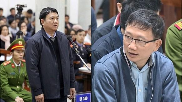 Ông Đinh La Thăng và Trịnh Xuân Thanh lại ra tòa vụ án Ethanol Phú Thọ