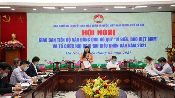 Nâng cao hiệu quả hội nghị đại biểu nhân dân