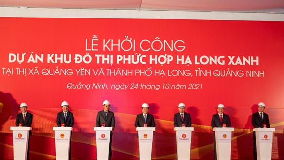 Quảng Ninh: Đồng loạt khởi công 4 dự án tổng đầu tư 12 tỷ USD