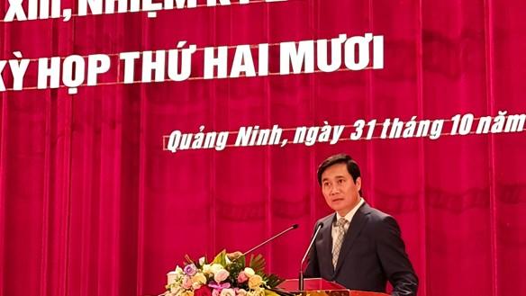 Ông Nguyễn Tường Văn làm Chủ tịch UBND tỉnh Quảng Ninh