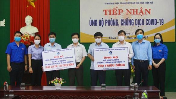 Thừa Thiên – Huế: Tiếp nhận ủng hộ Quỹ Vaccine phòng Covid-19