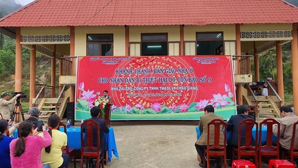 Quảng Nam: Người dân vùng sạt lở huyện Phước Sơn đã có nhà mới đón Tết