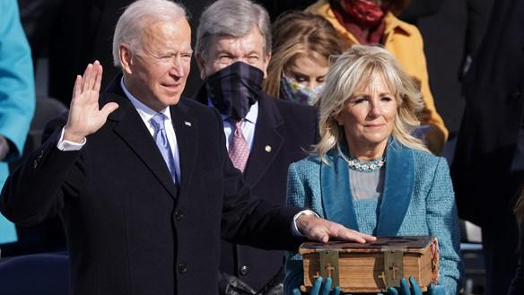 Ông Biden trở thành tổng thống thứ 46 của Mỹ