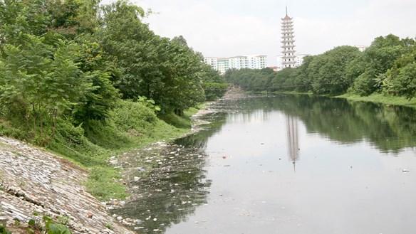 Lên phương án 'cứu' sông Tô Lịch