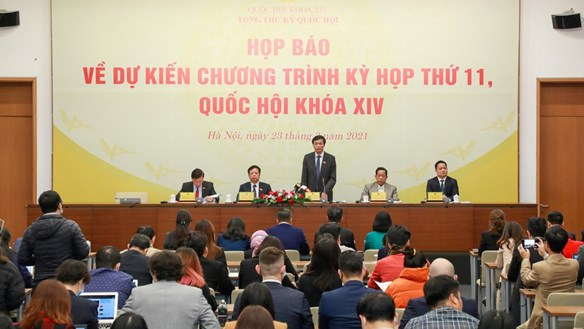 Kỳ họp thứ 11 Quốc hội khóa XIV: Dành 7 ngày làm công tác nhân sự