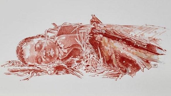 Ngôi mộ cổ 78.000 năm tuổi có thi hài một đứa trẻ khoảng 3 tuổi