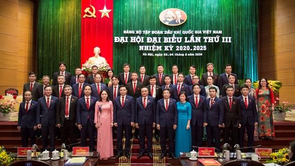 Đại hội đại biểu Đảng bộ Tập đoàn Dầu khí thành công tốt đẹp