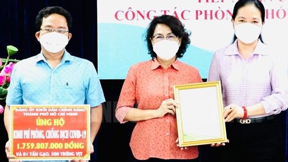 TP Hồ Chí Minh: Tiếp nhận ủng hộ chống dịch gần 3,5 tỷ đồng