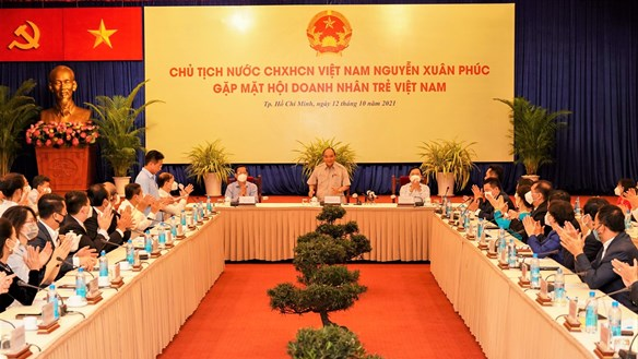 Chủ tịch nước Nguyễn Xuân Phúc: Tự hào thế hệ doanh nhân trẻ Việt Nam