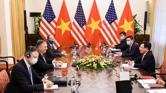 Ngoại trưởng Mỹ M.R.Pompeo:Thật tuyệt vời khi được trở lại Hà Nội
