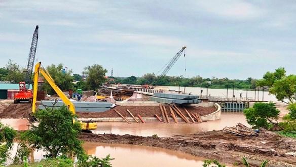 Dự án âu thuyền Kim Đài (Ninh Bình): Thi công gây sụt lún, nứt công trình của dân