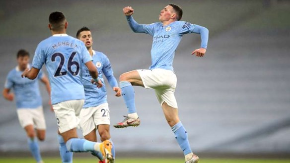 Highlight: Thắng tối thiểu Brighton, Man city thắng trận thứ 7 liên tiếp