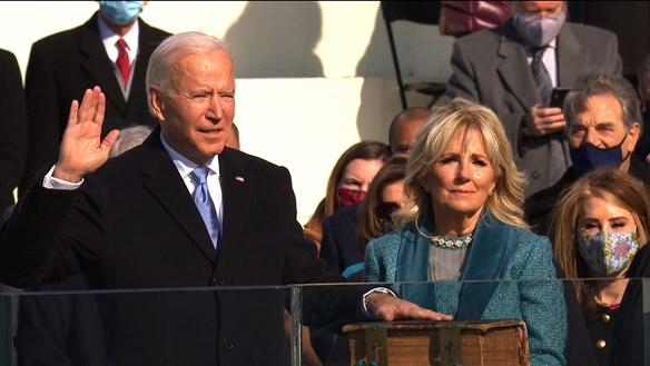 [VIDEO]: Lễ nhậm chức đặc biệt của tân Tổng thống Mỹ Joe Biden