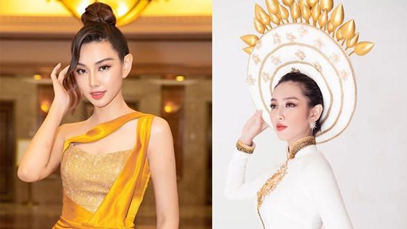 Thùy Tiên vừa hé lộ trang phục dân tộc tại Miss Grand International 2021