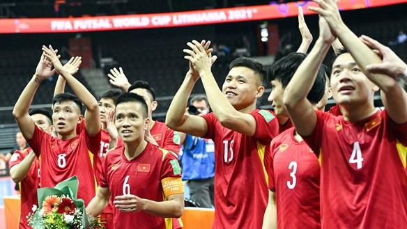 Tái lập kỳ tích World Cup, futsal Việt Nam nhận thưởng nóng 1 tỷ đồng