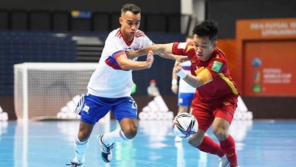 Tuyển futsal Việt Nam 2 lần sút tung lưới tuyển Nga, thua sát nút đáng tiếc