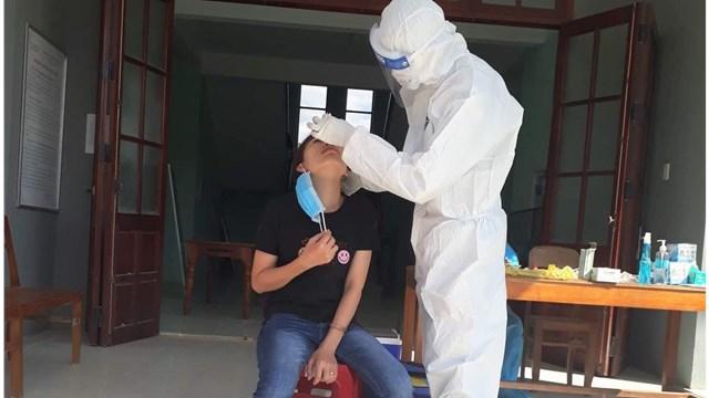 Quảng Nam: Cách ly tập trung 20 trường hợp tại huyện Núi Thành