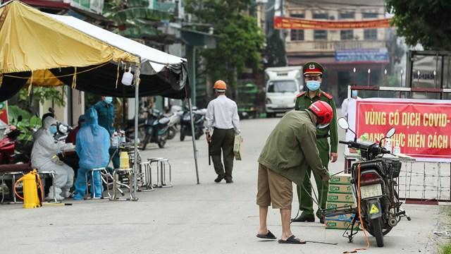 Khuyến cáo người dân đi về từ huyện Thuận Thành, Bắc Ninh từ ngày 28/4 tự cách ly y tế