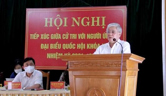 Chủ tịch Đỗ Văn Chiến: Giữ gìn hình ảnh, tư cách người đại biểu nhân dân