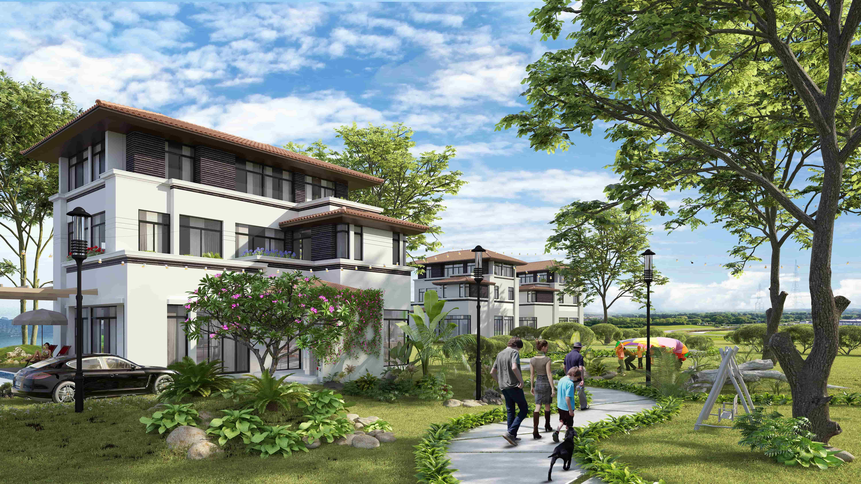 Biệt thự FLC Grand Villa Halong mang đến sự riêng tư và yên tĩnh cho gia chủ.