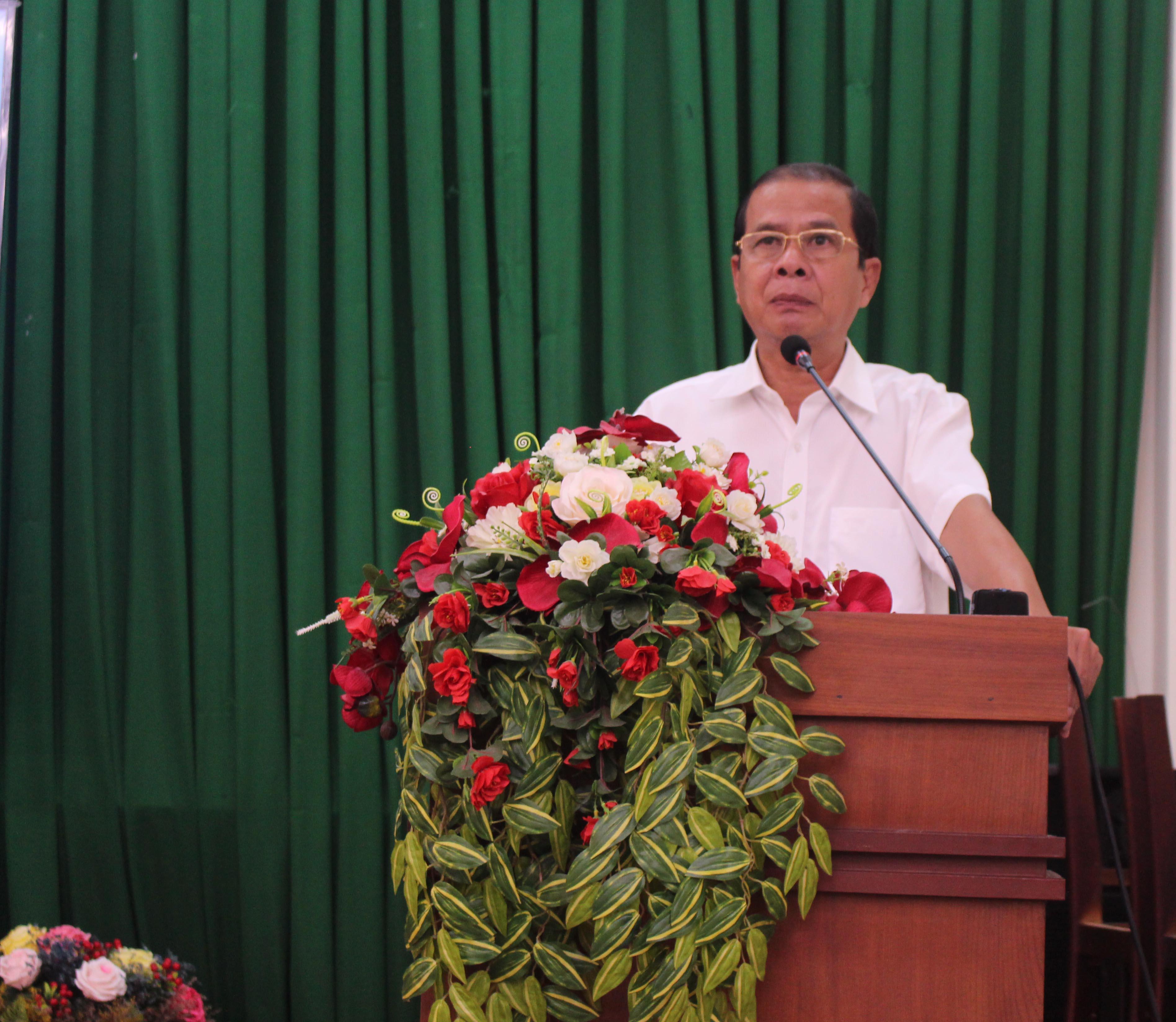 Ông Nguyễn Thanh Dũng Phó chủ tịch UBND TP Cần Thơ