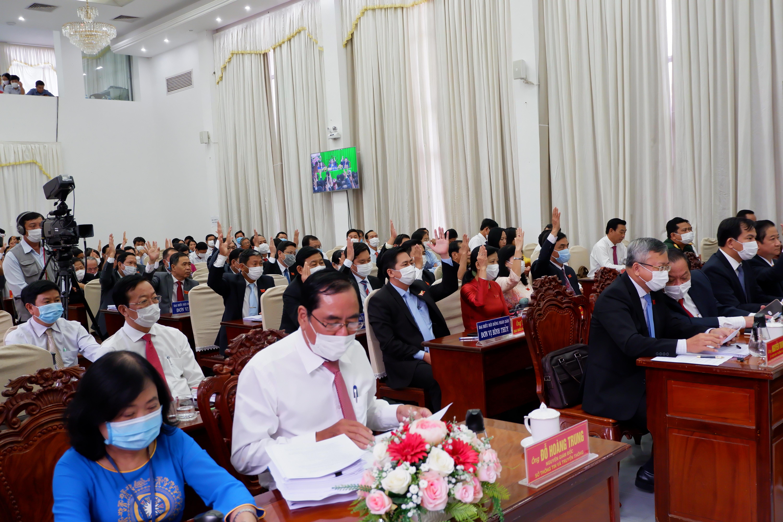 Biểu quyết miễn nhiệm chức vụ Phó Chủ tịch UBND thành phố