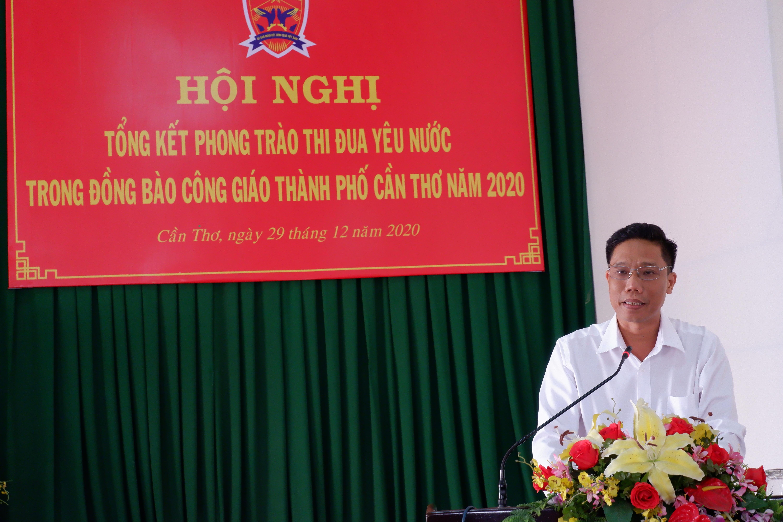 , Phó chủ tịch UBND TP Cần Thơ Nguyễn Thực Hiện phát biểu chỉ đạo tại hội nghị