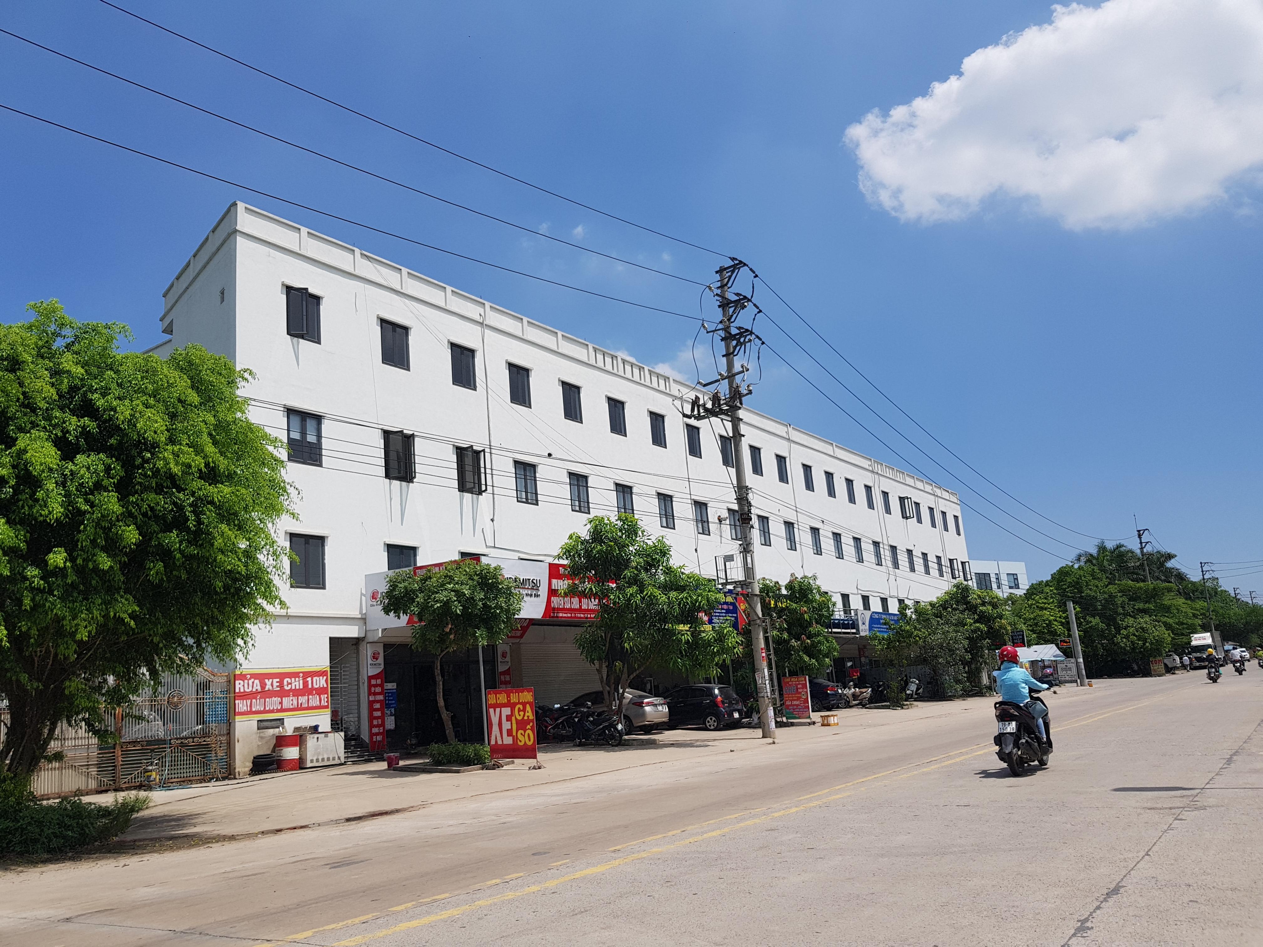 Nhiều vi phạm tại KCN Quang Minh vẫn mặc nhiên tồn tại.