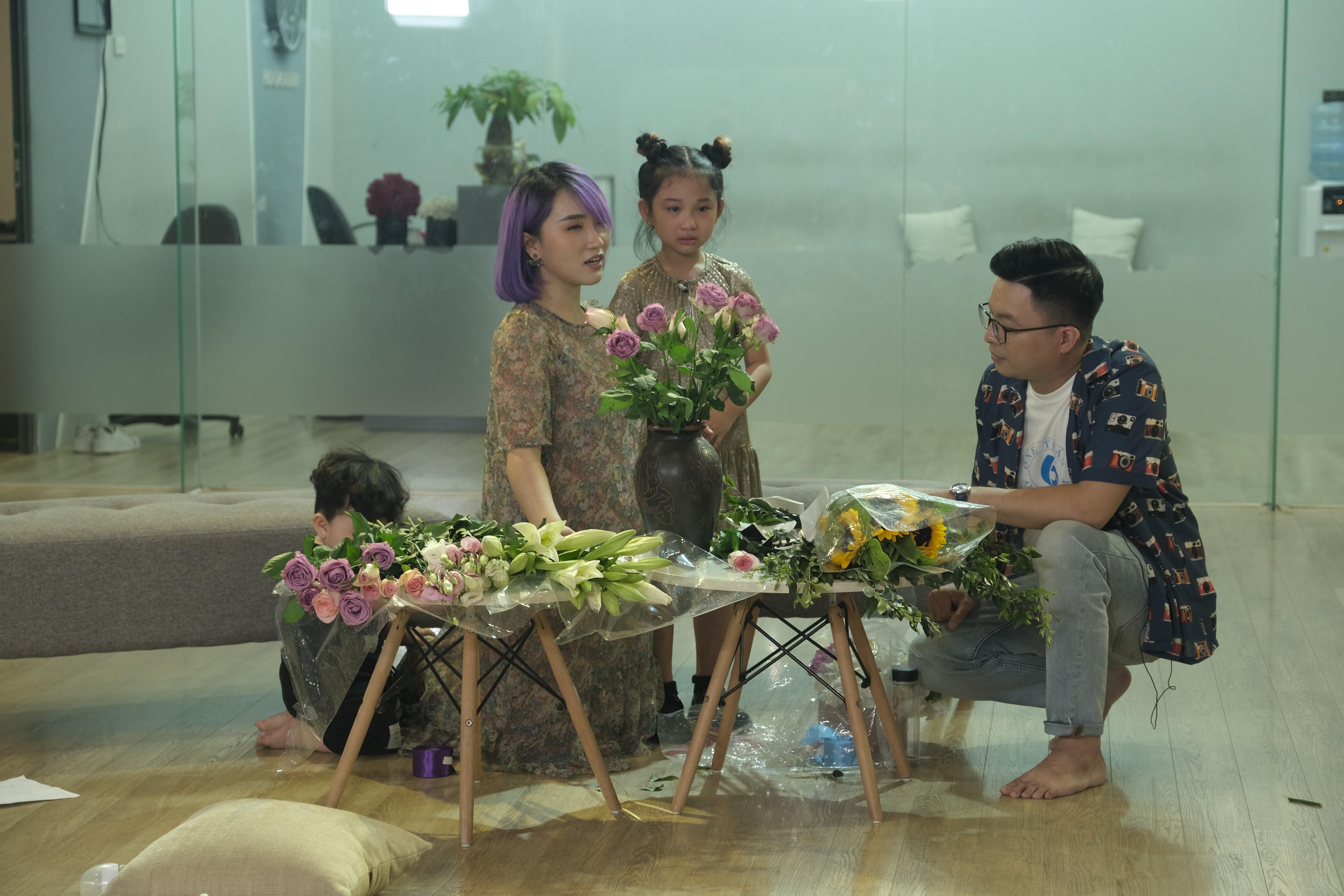 Gia đìnhkiện tướng dancesport Quỳnh Trang.