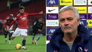 Ca ngợi Son Heung Min, HLV Mourinho 'cà khịa' Bruno Fernandes