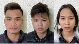 Hà Nội: Triệt phá ổ nhóm giả danh cán bộ ngân hàng để lừa đảo
