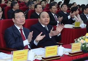 [ẢNH] Thủ tướng dự Hội nghị của Bộ Thông tin và Truyền thông