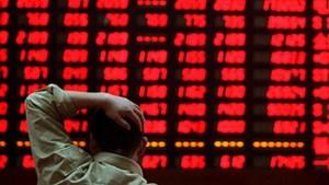 Thị trường chứng khoán đỏ sàn