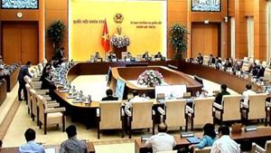 Ủy ban Thường vụ Quốc hội công bố 9 Nghị quyết