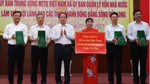 MTTQ tỉnh Hậu Giang: Đồng hành cùng người nghèo