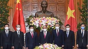 Thủ tướng Nguyễn Xuân Phúc tiếp Bộ trưởng Công an Trung Quốc