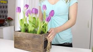 3 cách cắm hoa độc đáo cực đơn giản