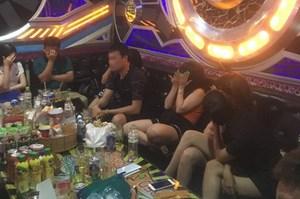 Phát hiện 32 người dương tính với ma túy trong quán karaoke